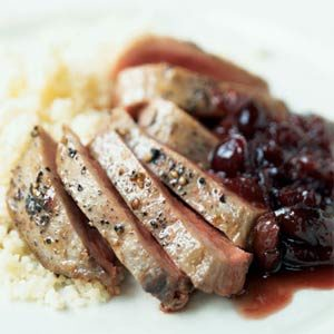 Duck and Cherry Sauce