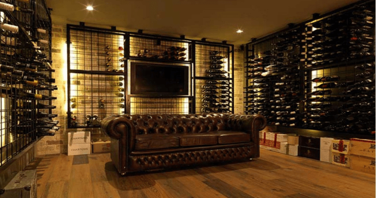 5 UNIQUE SPACES TO INSTALL A WINE RACK AT HOME