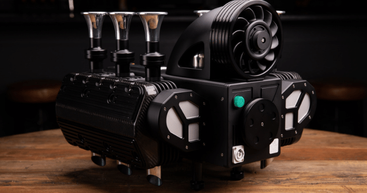 These High-Octane Espresso Machines Are Inspired by the World's Fastest Automobiles